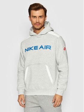 Nike Nike Суитшърт Air Pullover DA0212 Сив Standard Fit