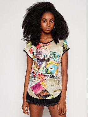 Desigual Desigual T-Shirt Colombia 21SWTKAV Barevná Regular Fit