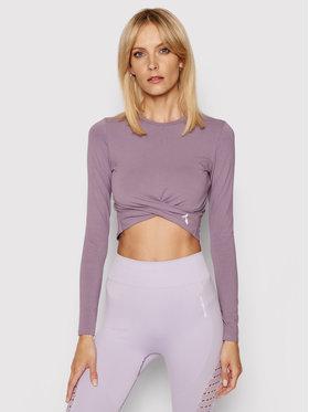 Carpatree Carpatree Тениска от техническо трико Gaia GLT-P Виолетов Slim Fit