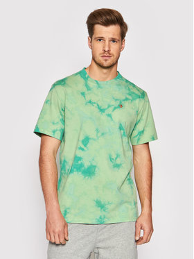 Converse Converse T-Shirt Marble Cut And Sew Tee 10021490-A01 Zielony Loose Fit