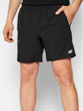4F 4F Športové kraťasy SKMF013 Čierna Regular Fit