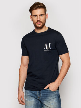 Armani Exchange Armani Exchange T-shirt 8NZTPH ZJH4Z 1510 Tamnoplava Regular Fit
