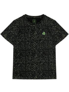 4F 4F Marškinėliai JTSM006 Juoda Regular Fit