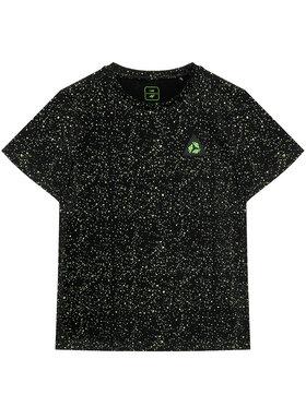 4F 4F T-Shirt JTSM006 Czarny Regular Fit