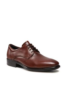ECCO ECCO Chaussures basses Cityray 512734 01053 Marron