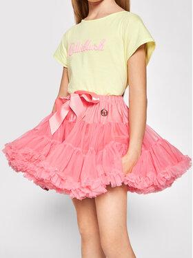 LaVashka LaVashka Spódnica 96-B Różowy Regular Fit