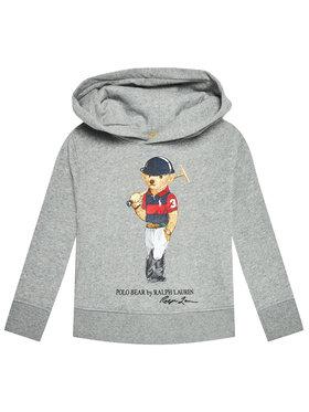 Polo Ralph Lauren Polo Ralph Lauren Džemperis Ls Po Hood 321838227002 Pilka Regular Fit