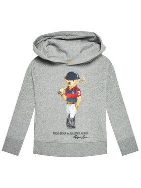 Polo Ralph Lauren Polo Ralph Lauren Μπλούζα Ls Po Hood 321838227002 Γκρι Regular Fit