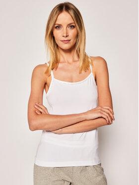 Calvin Klein Underwear Calvin Klein Underwear 2 marškinėlių komplektas Cami 000QS6440E Balta Regular Fit
