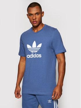 adidas adidas T-shirt adicolor Classics Trefoil GN3467 Bleu Regular Fit