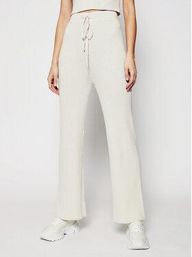 Guess Guess Текстилни панталони Rib O1GB02 ZZ04L Бежов Regular Fit