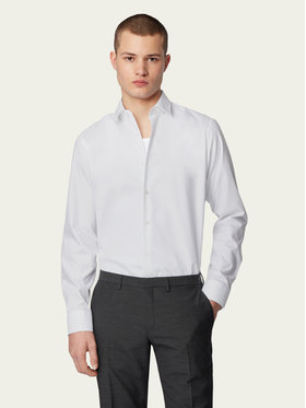 Boss Boss Camicia Eliott 50416086 Bianco Regular Fit