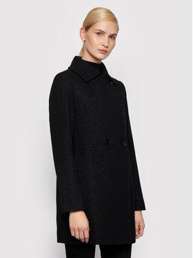 Boss Boss Gyapjú kabát C_Comila 50443734 Fekete Regular Fit