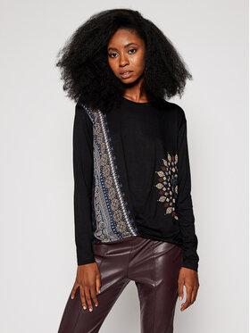 Desigual Desigual Блуза Marsella 20WWTKAO Черен Regular Fit