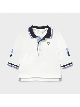 Mayoral Mayoral Tricou polo 1171 Alb Regular Fit