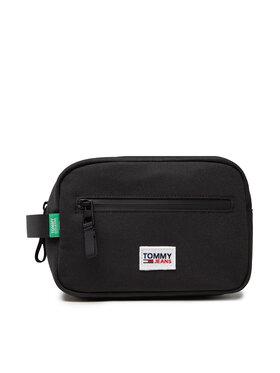 Tommy Jeans Tommy Jeans Несесер Tjm Urban Essentials Washbag AM0AM07012 Черен