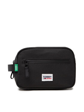 Tommy Jeans Tommy Jeans Pochette per cosmetici Tjm Urban Essentials Washbag AM0AM07012 Nero
