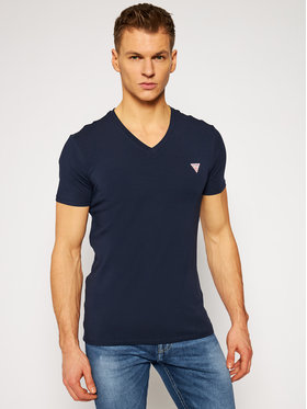 Guess Guess T-shirt M1RI32 J1311 M1RI32 J1311 Bleu marine Super Slim Fit
