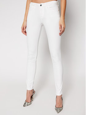 Guess Guess Farmer Curve X W1GAJ2 W77RE Fehér Skinny Fit