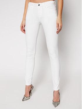 Guess Guess Jean Skinny Fit Curve X W1GAJ2 W77RE Blanc Skinny Fit