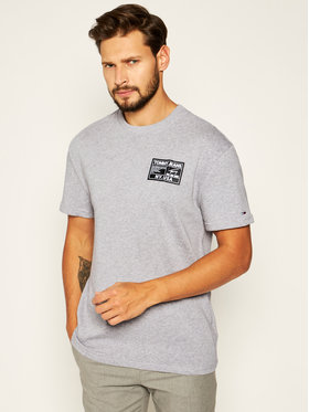 Tommy Jeans Tommy Jeans T-Shirt Tjm Black Label Tee DM0DM07853 Szary Regular Fit