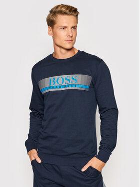 Boss Boss Bluza Authentic 50449939 Granatowy Regular Fit
