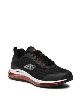Skechers Skechers Обувки Lomarc 232036/BKRD Черен