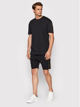 La Manuel La Manuel Комплект тишърт и спортни шорти Dream Big Черен Regular Fit