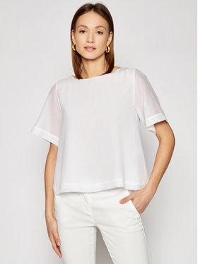 Marella Marella Chemisier Zeo 31110715 Blanc Regular Fit
