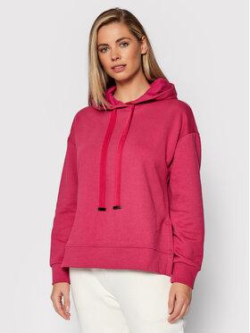 United Colors Of Benetton United Colors Of Benetton Світшот 3QMHE2283 Рожевий Boxy Fit