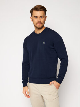Lacoste Lacoste Sweter AH2193 Granatowy Classic Fit
