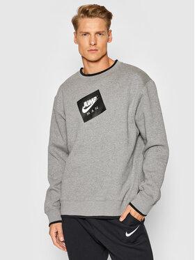 Nike Nike Majica dugih rukava Jordan Jumpman Classics CV2370 Siva Standard Fit