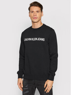 Calvin Klein Jeans Calvin Klein Jeans Pulóver J30J307757 Fekete Regular Fit