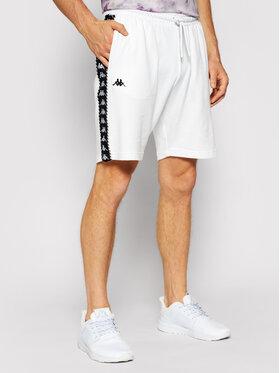 Kappa Kappa Szorty sportowe Italo 309013 Biały Regular Fit