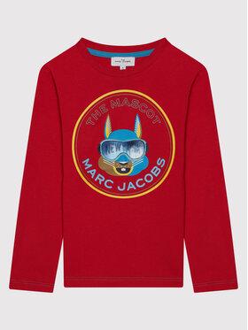 Little Marc Jacobs Little Marc Jacobs Блуза W25515 S Червен Regular Fit