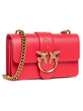 Pinko Pinko Kabelka Love Mini Icon Simply 6 Cl. PE 21 PLTT 1P227M Y6XT Červená