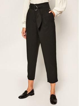 Calvin Klein Calvin Klein Kalhoty z materiálu Tencel Paper Bag K20K202127 Černá Regular Fit