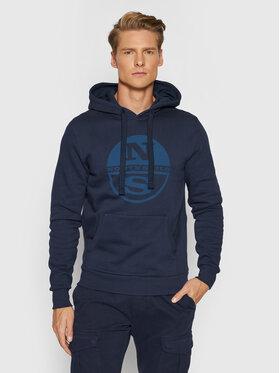 North Sails North Sails Sweatshirt Fleece 691623 Bleu marine Regular Fit