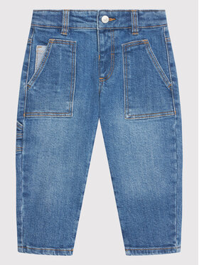 United Colors Of Benetton United Colors Of Benetton Jeansy 4ONT55FM0 Niebieski Relaxed Fit