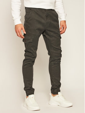 Guess Guess Joggers kalhoty New Kombat M0YB17 WD2D1 Šedá Slim Fit