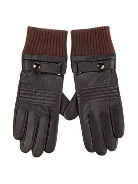 Wittchen Wittchen Pánské rukavice 39-6-705-B M Hnědá