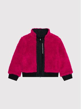 Calvin Klein Jeans Calvin Klein Jeans Geacă de iarnă Reversible Teddy IG0IG01023 Negru Regular Fit