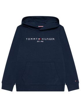 Tommy Hilfiger Tommy Hilfiger Bluza Essential Hoodie KS0KS00213 Granatowy Regular Fit
