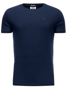 Tommy Jeans Tommy Jeans T-Shirt DM0DM04411 Granatowy Regular Fit