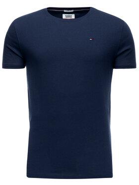 Tommy Jeans Tommy Jeans T-Shirt DM0DM04411 Σκούρο μπλε Regular Fit