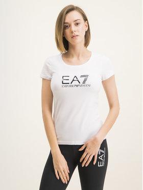 EA7 Emporio Armani EA7 Emporio Armani T-shirt 8NTT63 TJ12Z 0102 Bianco Slim Fit