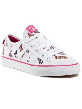 adidas adidas Topánky Nizza J FY8433 Biela