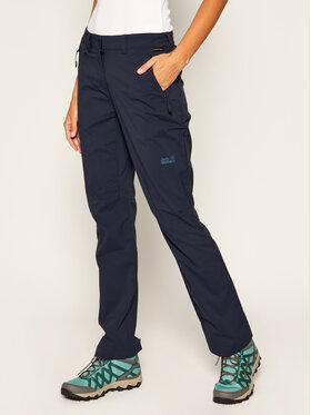 Jack Wolfskin Jack Wolfskin Spodnie outdoor Activate Light 1503842 Granatowy Regular Fit