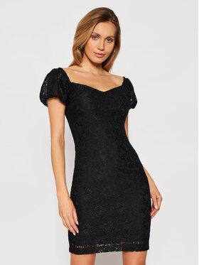 Guess Guess Коктейлна рокля W1GK0R KAM20 Черен Slim Fit