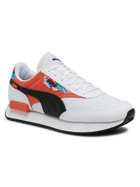 Puma Puma Sneakersy Future Rider Intl Game 375971 01 Biela